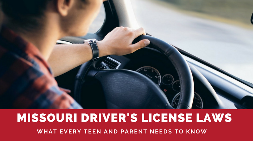 To eliminate the headache from getting your teen properly licensed, here's an easy-to-follow guide outlining Missouri Driver's License Laws.
