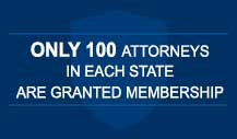 America's Top 100 Attorneys Membership